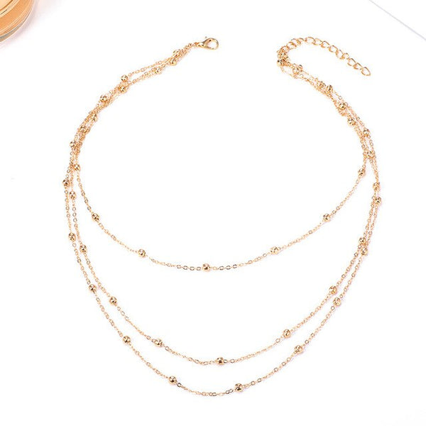 Triple Drop Necklace from Embellish | London