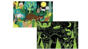 Puzzel Glow in the Dark In the Forest (100pcs)