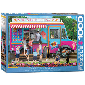 Puzzle Dan's Ice Cream Van (1000 pcs)