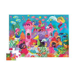 Floor Puzzle Mermaid Palace (36pcs)