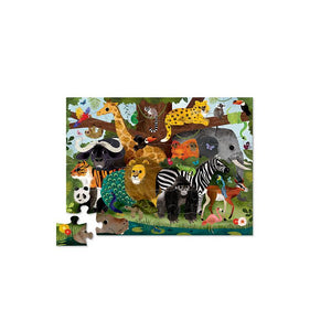 Floor Puzzle Jungle Friends (36pcs)