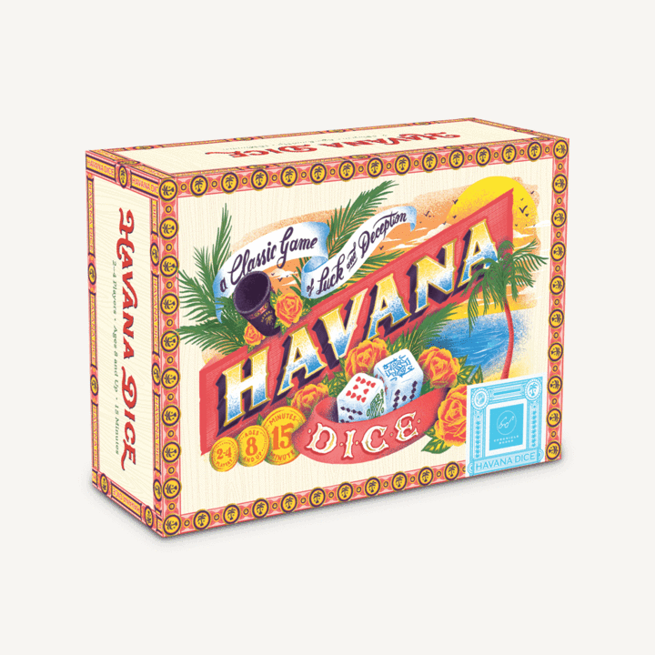 Havana Dice. A Classic Game of Luck and Deception