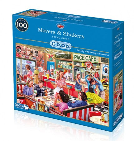 Puzzle Movers & Shakers (500 pcs)