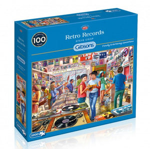 Puzzel Retro Records (1000 pcs)