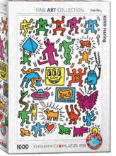 Afbeelding in Gallery-weergave laden, Puzzle Keith Haring (1000 pcs)