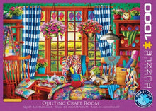 Afbeelding in Gallery-weergave laden, Puzzle The quilting craft room 1000pcs