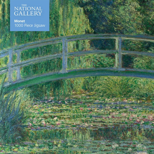 Puzzle National Gallery Monet: Bridge over Lily Pond (1000 pcs)