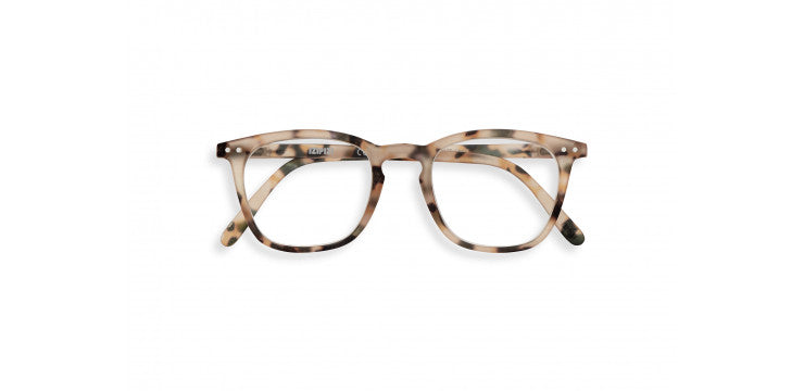 Leesbril #E Light Tortoise