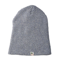 Light Gray Blue Beanie