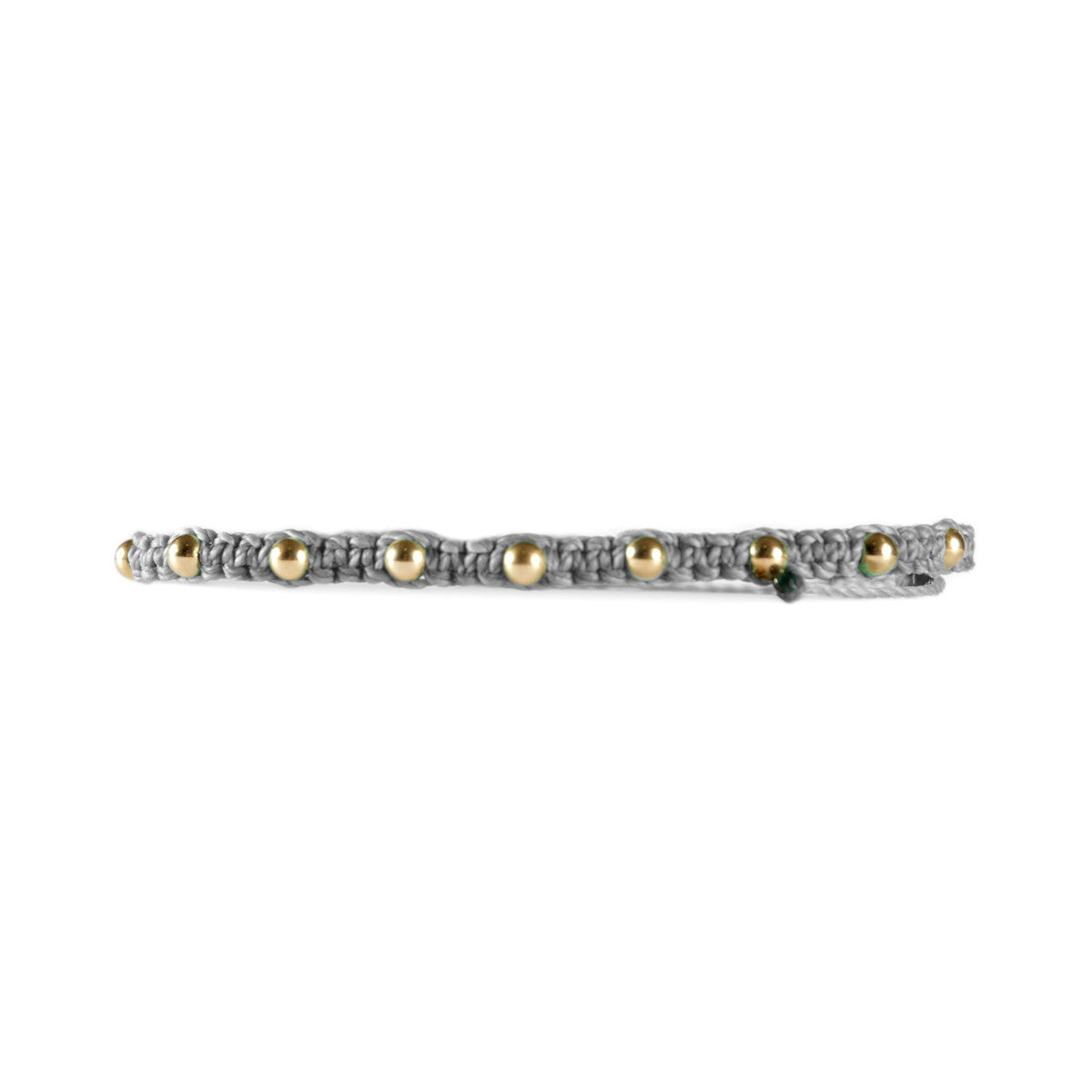 Wholesale Gold Filled Studded Bracelet Dark Grey