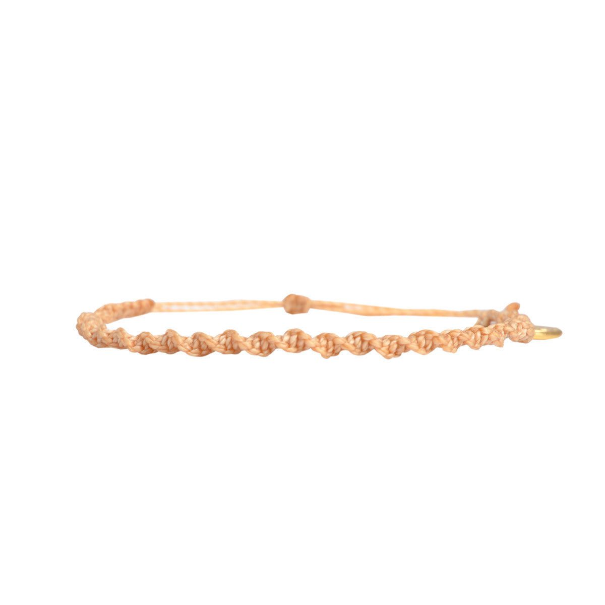 Macrame Twist Bracelet Light Sand