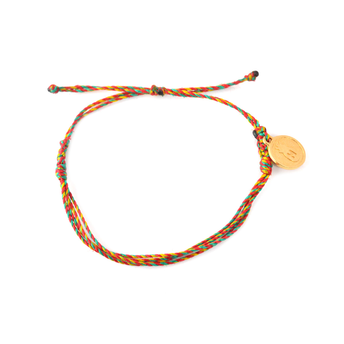 Multi Color Rasta String Bracelet
