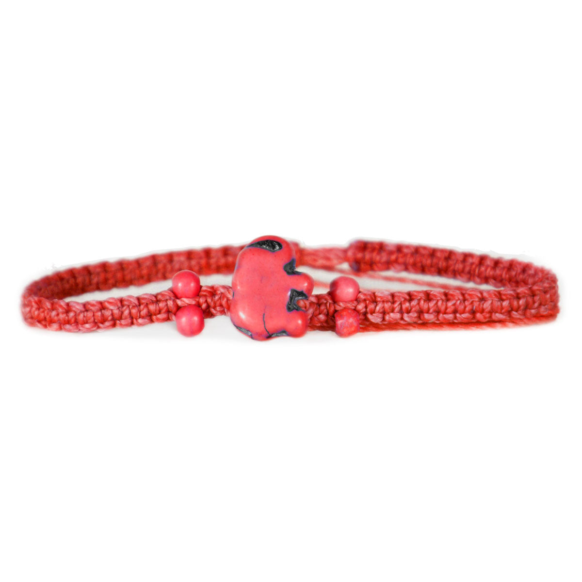 Lucky Red Elephant Bracelet