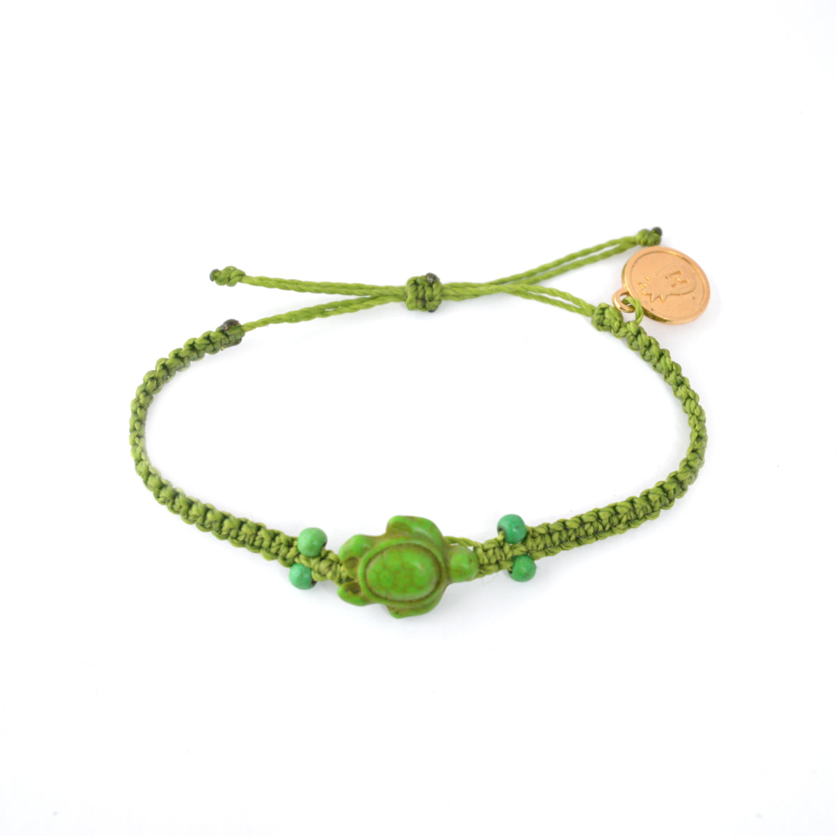 green silver sea turtle bracelet wholesale