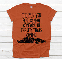 Joy that is coming tee