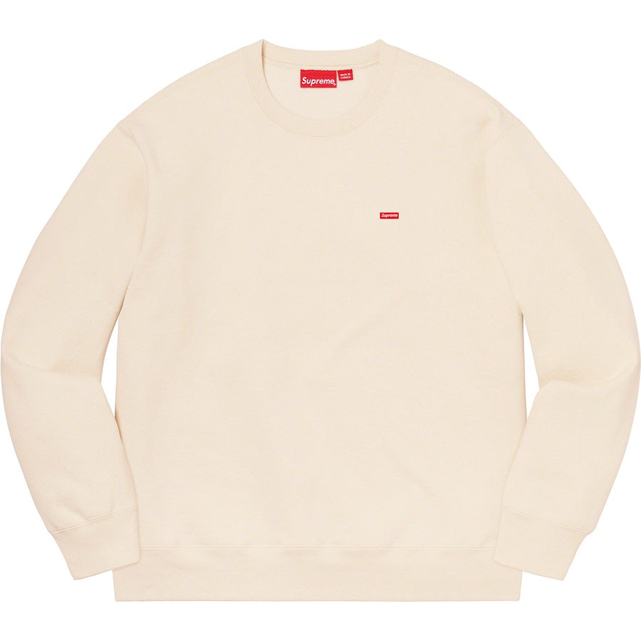 SUPREME SMALL BOX LOGO CREW NECK