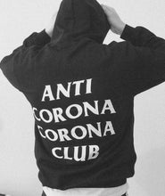 Load image into Gallery viewer, MENZ. ANTI CORONA HOODIE