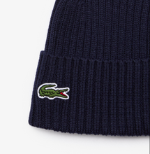 Load image into Gallery viewer, LACOSTE WOOL BEANIE