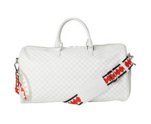 Load image into Gallery viewer, SPRAYGROUND MEAN SHARKS DUFFLE BAG