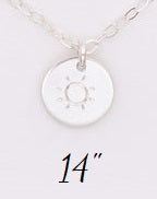 LIMITED EDITION Sol Necklace - Sterling SIlver