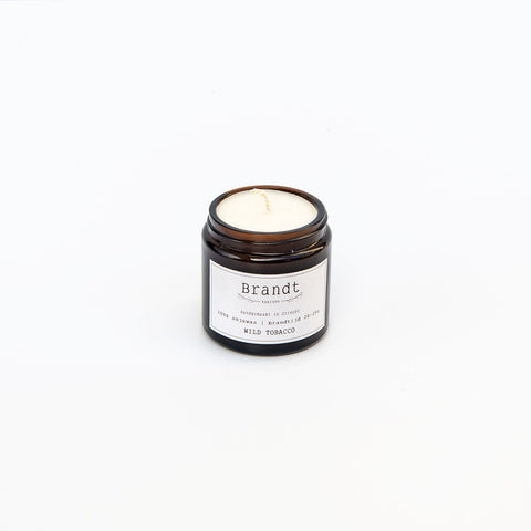 Brandt Apothecary Candle Wild Tobacco