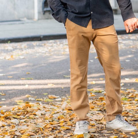 Dedicated Chino Pants Sundsvall Khaki