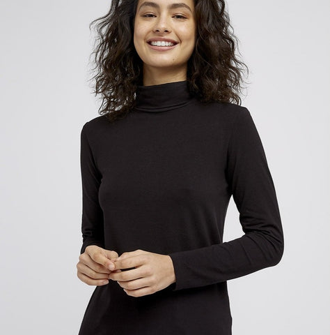 People Tree Longsleeve Fallon Black