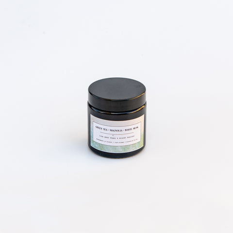 Brandt Apothecary Candle Green tea - Magnolia - White Musk