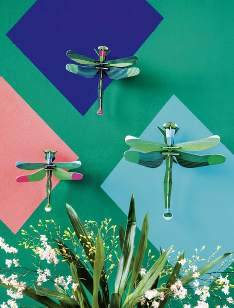 Studio Roof Dragonflies - Set of 3