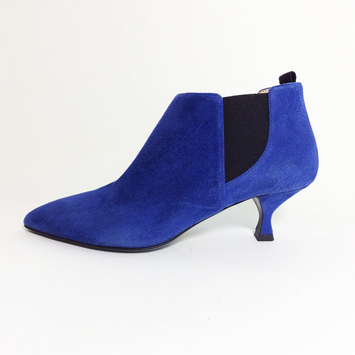 Prada Royal Blue Pointy-toe Ankle Booties Sz 37 (7)