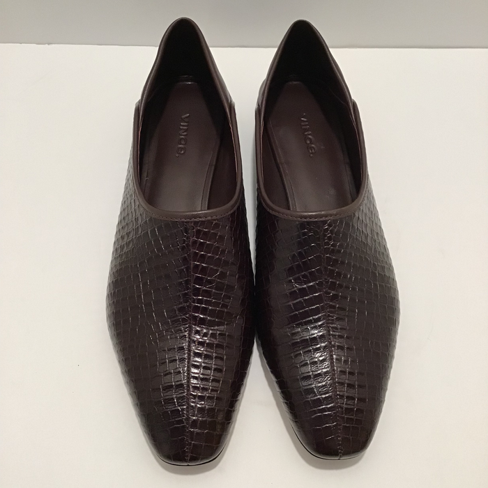 Vince Brown Branine Loafers Sz 39 (9)