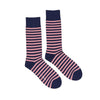 Navy and Pink Stripe by ortc Clothing Co USA