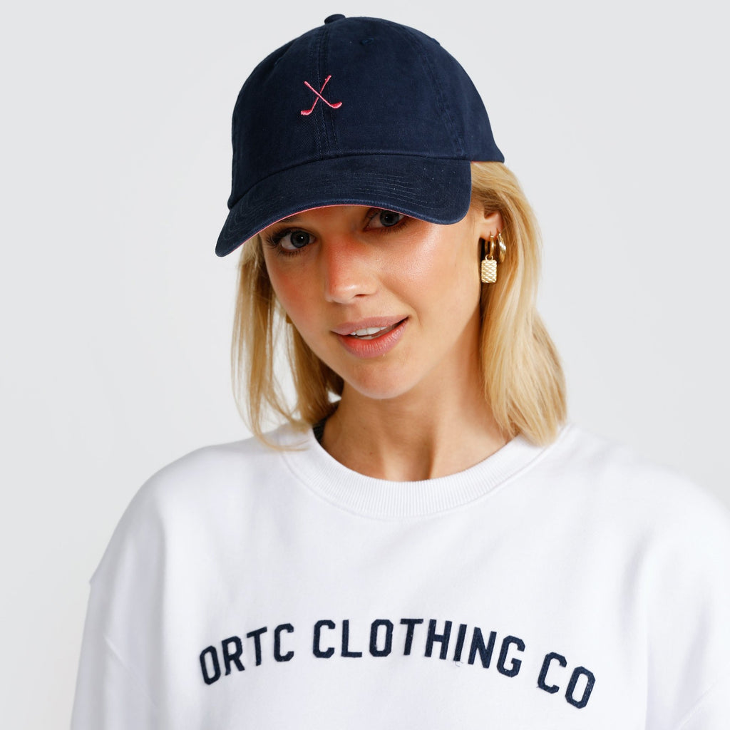 Clubs Cap Navy and Pink - ortc Clothing Co. - USA