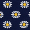 Navy Daisies by ortc Clothing Co USA