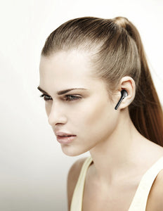 TOMKAS Bluetooth Wireless Earphone with Dual Microphones