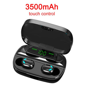S11 Bluetooth 5.0 Wireless Earphone TWS Headphones Touch Control Earbuds 9D Gaming Headset 3500mAh Power Bank For Phone PK G20