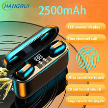 Laden Sie das Bild in den Galerie-Viewer, S11 Bluetooth 5.0 Wireless Earphone TWS Headphones Touch Control Earbuds 9D Gaming Headset 3500mAh Power Bank For Phone PK G20