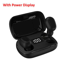 将图片加载到图库查看器,Bluetooth Earphone Wireless Earbuds LED Display 5.0 TWS Headsets Dual Earbuds Bass Sound for Huawei Xiaomi Iphone Samsung Phone
