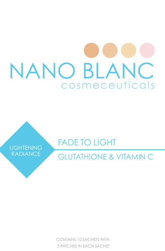 Fade to Light Clear transdermal Patch Stock Clearance 300mg - Shop  online | Nano Blanc