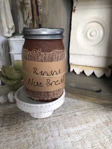 Banana bread candle 16 oz