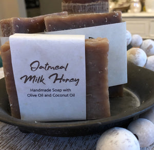 Oatmeal, Milk and Honey 3.4 oz bar