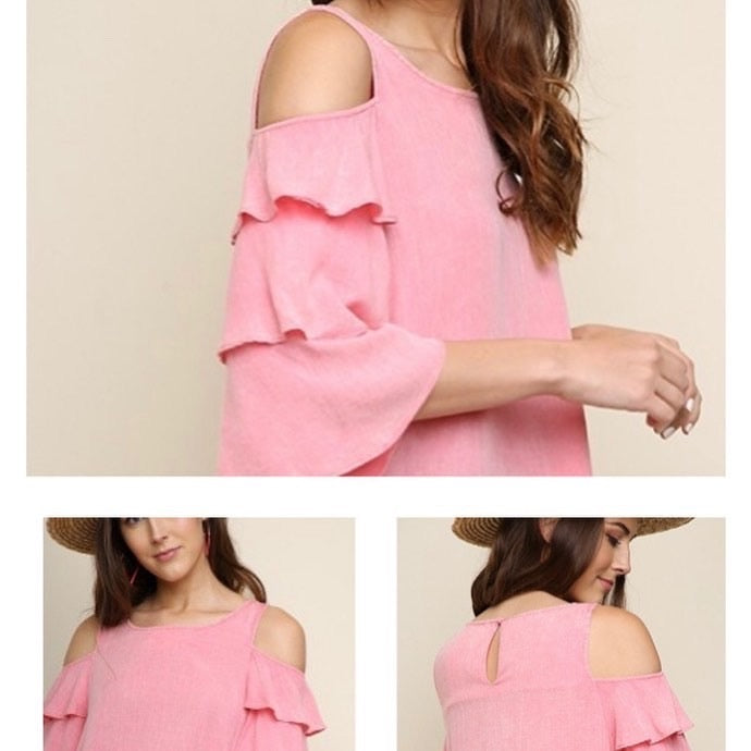Beautiful pink cotton blouse