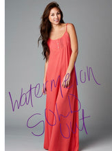 Load image into Gallery viewer, Romantic Loose Fit Tunic Maxi Dress  -Color - Natural