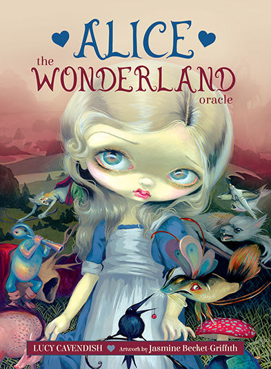 ALICE THE WONDERLAND ORACLE DECK - 45 Card Deck and 132-page Guidebook