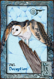 ANIMAL DREAMING ORACLE DECK - 45 Card Deck and 124-page Guidebook