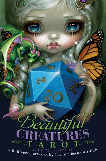 BEAUTIFUL CREATURES TAROT 2nd EDITION  - 80 Card Deck and 168-page Guidebook