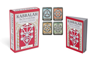 KABBALAH: THE TREE OF LIFE ORACLE DECK - 57 Card Deck and 144-page Guidebook
