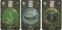 Load image into Gallery viewer, ENCHANTED LENORMAND ORACLE CARDS  - 39 Card Deck and Guidebook