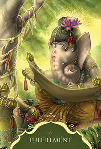 WHISPERS OF LORD GANESHA - 50 Card Deck and Guidebook