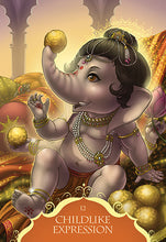 Load image into Gallery viewer, WHISPERS OF LORD GANESHA - 50 Card Deck and Guidebook